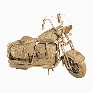 Large Wicker Harley Davidson by Tom Dixon, 1990