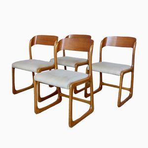 Chaises Vintage par Joamin Baumann, 1960s, Set de 4