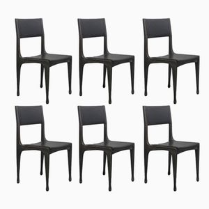Chairs by Carlo de Carli for Cassina, 1950s, Set of 6