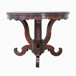 Table Ronde en Noyer, 1850s