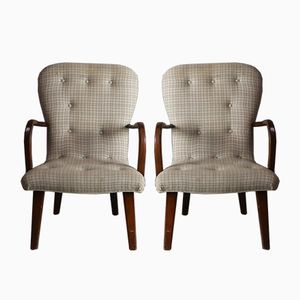 Mid-Century Danish Occasional Chairs, 1960s, Set of 2