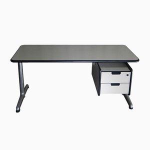 Vintage Schreibtisch mit Schubladen von Castelli