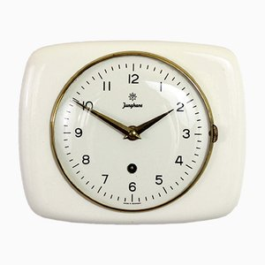 Vintage German Wall Clock from Junghans