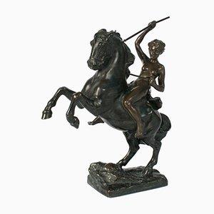 Figurine Viennoise en Bronze de Argentor Wien, 1920s