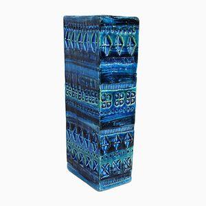 Jarrón italiano de cerámica de Aldo Londi para Bitossi