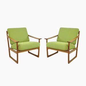 Sessel von Peter Hvidt & Orla Mølgaard-Nielsen für France & Søn, 1960er, 2er Set
