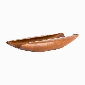 Teak Bowl by Finn Juhl for Kay Bojesen, 1970s