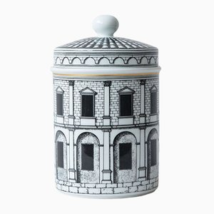 Palladiana Porcelain Pot by Piero Fornasetti for Rosenthal