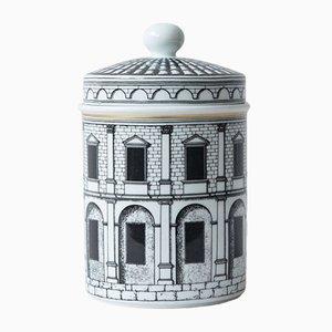 Vaso Palladiana in porcellana di Piero Fornasetti per Rosenthal