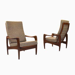 Lounge Chairs from De Ster Gelderland, Set of 2
