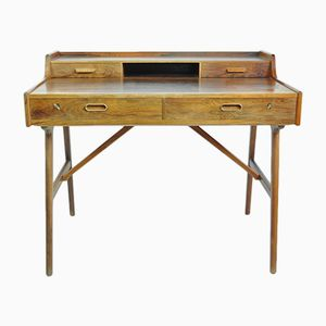 Freestanding Desk by Arne Wahl Iversen for Vinde Möbelfabrik, 1950s