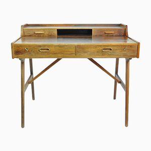 Freistehender Schreibtisch von Arne Wahl Iversen für Vinde Möbelfabrik, 1950er