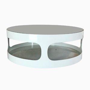 Space Age Smoked Glass Coffee Table by Erik van Buijtenen for Nebu, 1970s