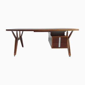 Terni Executive Schreibtisch aus Nussholz von Ico Parisi für MIM, 1958