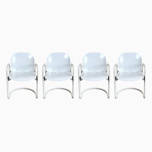 Dialogo Dining Chairs by Tobia Scarpa for B&B, 1970s, Set of 4