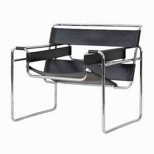 Wassily Armchair by Marcel Breuer for Knoll International, 1980s