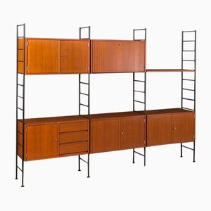 German Shelving Unit from Holzäpfel, 1960s