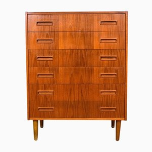Mid-Century Danish Teak Chest of Drawers from P. Westergaard Mobelfabrik
