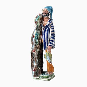Italian Ceramic Figure by Marchese, 1950s