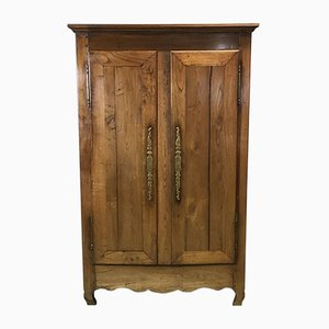 Small 19th Century Chestnut Armoire