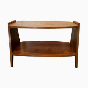 Scandinavian Oak Coffee Table, 1970s