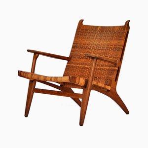 Chaise longue CH27 di Hans J. Wegner per Carl Hansen & Søn, 1951