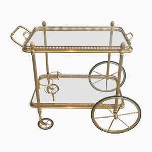 Vintage Neoclassical Serving Cart from Maison Bagués