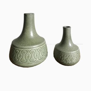 Danish Vases by Einar Johansen for Søholm, 1960s, Set of 2