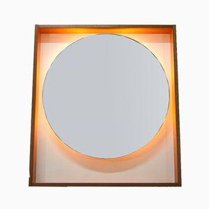 Espejo escandinavo grande retroiluminado