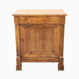 Antique Chestnut Wood Cabinet