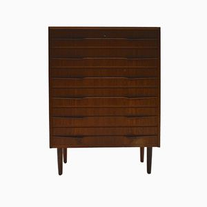 Danish Teak Chest of Drawers by Louis van Teeffelen, 1960s