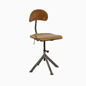 Architect's Chair by Elias Svedberg for Odelberg & Olson, 1948