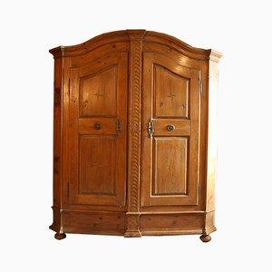 Armario de madera blanda, siglo XVIII