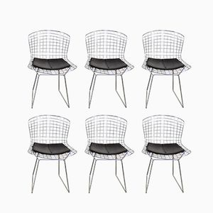 Chaises Mid-Century par Harry Bertoia pour Knoll International, Set de 6