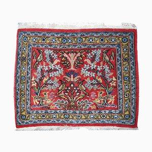 Vintage Handmade Tabriz Mat, 1950s
