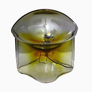 Lampada da tavolo Medusa in vetro di Umberto Riva per VeArt, anni '70