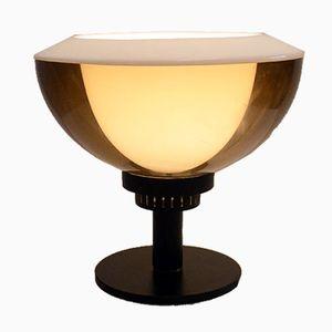 Lampada da tavolo in plexiglas e metallo di Stilnovo, anni '60