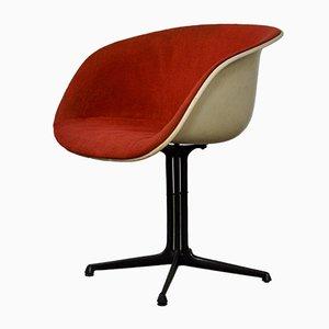 Silla La Fonda Shell de Charles & Ray Eames para Herman Miller, años 60