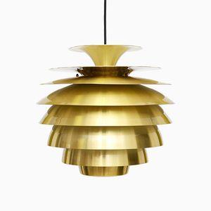 Lámpara colgante Barcelona de Bent Karlby para Lyfa, años 70