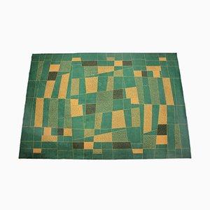 Geometrischer Teppich, 1950er