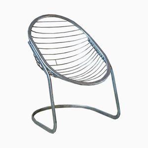 Sedia ovale di Gastone Rinaldi per Rima, anni '70