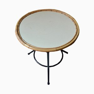 Table Basse Ronde Mid-Century