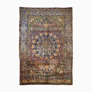 Tapis Artisanal Antique, 1880s
