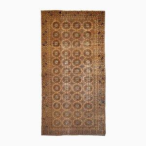 Handgefertigter Antiker Usbekischer Khotan Teppich, 1900er