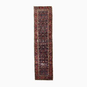 Tapis de Couloir Artisanal Antique, 1880s
