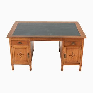 Dutch Oak Desk by K.P.C. de Bazel, 1900s