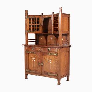 Mueble holandés de roble, década de 1900