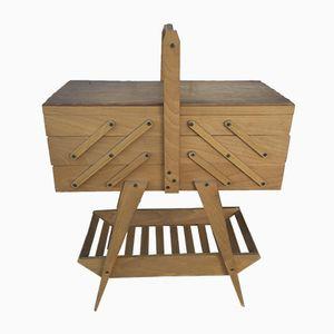 Mueble con patas compás, años 60