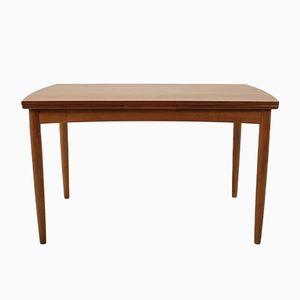 Danish Extendable Teak Table, 1960s