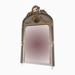 Specchio antico con dipinto